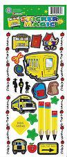 Teachers School Sticker Sheets Lot of 2 Teacher Rewards Student Kids Learning
