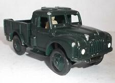 Dinky Humber 1 ton army truck - 641 - dark bronze green repaint