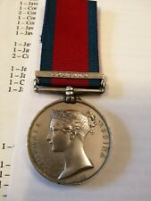 More details for military general service medal corunna  14th regt entitled waterloo medal