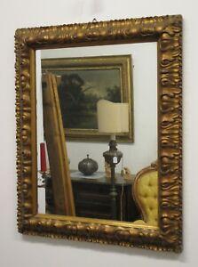 Specchiera dorata intagliata stile 600- specchio - epoca seconda metà 900