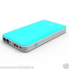 DOCA 8000mAh Blue coloured portable power bank 12v car jump starter also phones