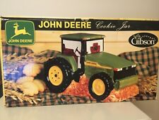 New John Deere Tractor Cookie Jar Farming Machinery Licensed by Gibson Farm