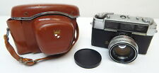 2A YASHICA LYNX-1000 35mm Camera w/ Lens And Case Japan
