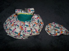 Tagged Dress and Bloomers for Ginger