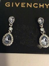 $42 Givenchy Blue  Stone Dangle Earrings  305C GE