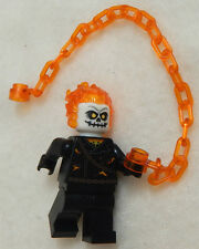 NEW LEGO GHOST RIDER MINIFIG figure minifigure 76058 spider-man marvel villain