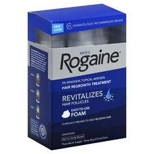 ROGAINE MEN'S FOAM (EXP 8/2017 3 MONTH SUPPLY) 5% minoxidil for men regaine