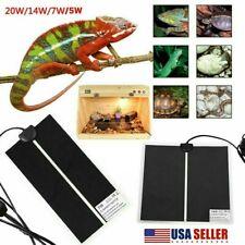 Safety Reptiles Vivarium Heat Heating Warm Heater Pad W/ Thermostat Controller