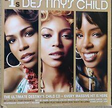 "Destiny'S Child ""#1's"" Australia Promo Poster - Album Artwork 3 Tight Face Shots"