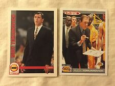 2 different Rudy Tomjanovich cards