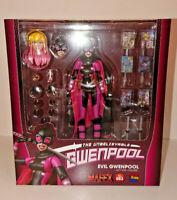 Medicom Toy Mafex 083 Evil Gwenpool Action Figure Marvel