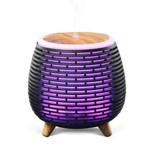 Mini Lantern Essential Oil Diffuser Aroma Aromatherapy 90 ml Multi Color LED