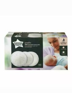 See notes Tommee tipee 100 x Disposable Breathable Breast Pads maternity feeding