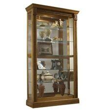 Beau Oak Curio Cabinets
