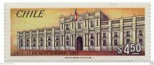 Chile 1981 #1009 Octavo Aniversario del Gobierno Militar General Pinochet MNH