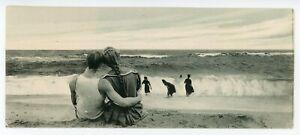 At the Beach Seascape somewhere in AMERICA 1905-15 H.O. Korten Bookmark Postcard