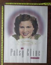 "Patsy Cline,18""x24"" ,Poster,Very Rare record company promo"