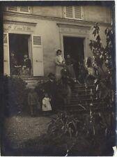 France Photographie Famille Maison Amateur SnapshotPL10L3-6 Vintage