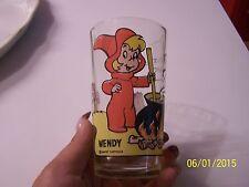"""Vintage Pepsi Series Glass """"Wendy"""""""