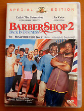 BARBER SHOP 2  DVD PAL FORMAT REGION 2  Queen Latifah, Ice Cube, Eve