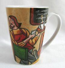 Sylvie Bourbonnie Cafe Bistro Barista Mug Bakery Art Print JOIE De Vivre MSC Cup