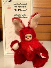 "Mib Marie Osmond ""Cranbunny"" Bit-O-Bunny series Coa"