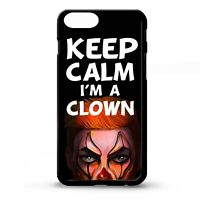 Keep calm i'm a clown circus carnival jester phrase quote phone case cover