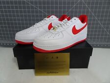 new arrival 0b923 def56 Nike Air Force 1 Low Retro CT16 QS White University Red AQ5107-100 Size 11.5