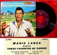 EP Mario Lanza Canta Temas Favoritos de Caruso Spanisch