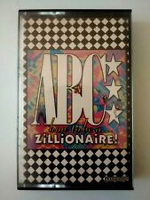 ABC - How To Be A Zillionaire Very Rare Cassette Tape Argentina Pressing VG+