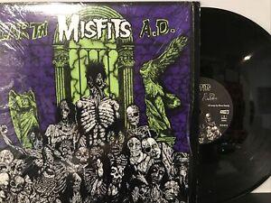Misfits – Earth A.D. / Wolfs Blood LP 1991 Caroline - PL9-02 EX/EX SHRINK