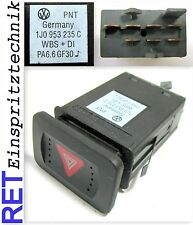 Schalter Warnblinkanlage 1J0953235C VW Golf 4 Bora original