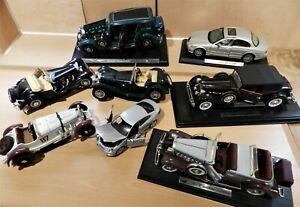 BURAGO JagSS100 Mercedes Benz MAISTO Jaguar S-Type 1934 Packard 1934 Pullman 118