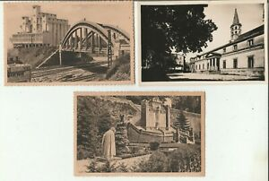 AUDE / lot de 3 cartes postale ancienne de Castelnaudary