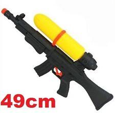 Summer Fun Water Gun Pump Squirt Black Pistol Children Beach Toy 49CM ♫