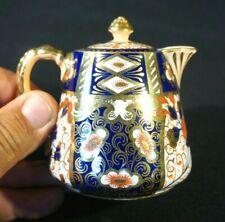 Stunning Antique Davenpot Longport 2614 Imari, 1870-1886 Lidded Creamer