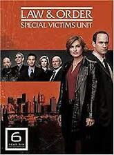 LAW AND ORDER – YEAR 6 - DVD, 5-DISC BOX SET, REGION -1, LIKE NEW FREE POSTAGE