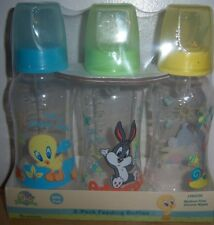 LOONEY TUNES 3PK 9oz BOTTLES, TWEETY, BUGS BUNNY, BABY SHOWER