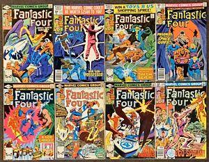 Fantastic Four #221,222,223,224,225,226,227,228 Marvel Comics 1980