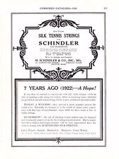 1930 Sporting Goods Journal Page Schindler Tennis Boston Ma Shoff Tackle Kent Wa