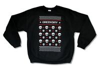Green Day Xmas Christmas Ugly Sweater Crew Neck Sweatshirt New Official