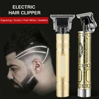 Hair Clipper Electric Trimmer Cordless Outliner Men Barber Beard Hair Cutting 2
