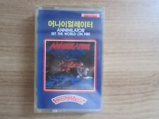 ANNIHILATOR - Set The World On Fire Korea Edition Sealed Cassette Tape