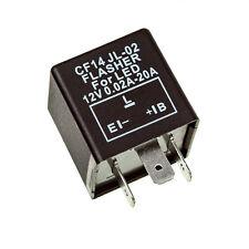 FIX FLASH rate TURN SIGNAL FLASHER RELAY indicatore LED Lampadine 3 pin CF14 JL-02