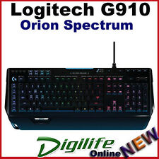 Logitech G910 Orion Spectrum RGB Mechanical Gaming Keyboard Multicolor Backlit