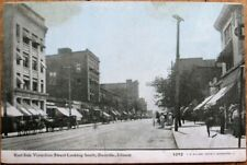 Danville, IL 1905 Postcard: Vermilion Street / Downtown - Illinois Ill
