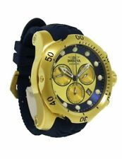 Invicta 90149 Venom Men's Analog Chronograph Day Date Navy Blue Silicone Watch