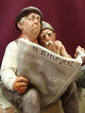 """Porcellana di Capodimonte, Giuseppe Cappè.  """"IL GIORNALE"""" di un realismo unico"""