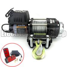 Cabrestante Guerrero Ninja 2500 lb (approx. 1133.98 kg) 24 V con Cable De Acero & Control Inalámbrico