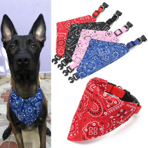 Adjustable Neck Decor Pet  Collar Puppy Bibs Triangle Neckerchief Cat Scarf